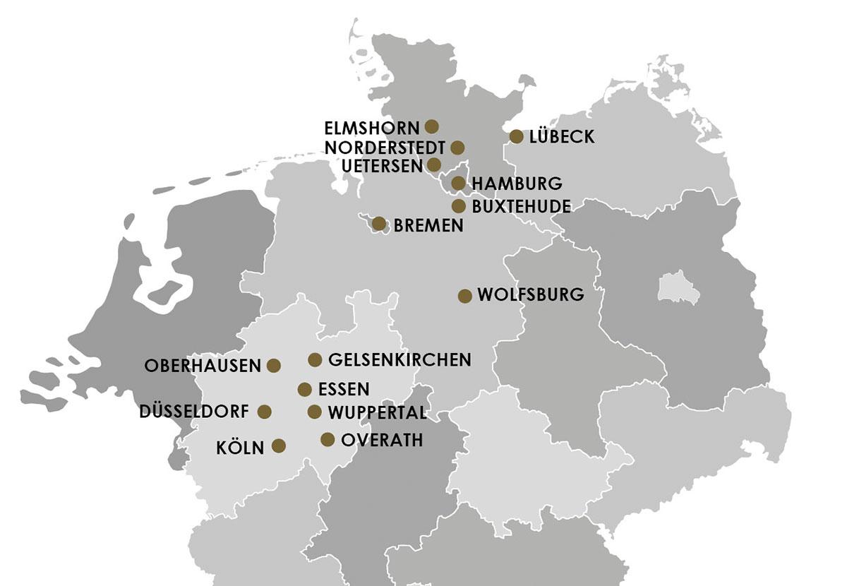 NOVUM Zinshaus Standort Karte